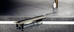 Прочная металлическая рама, положение которой можно регулировать по уровню пола четырьмя монтажными опорами — это надежная основа для долговечной гидроизоляции профессионального уровня.
