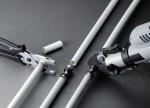 Монтаж металлопластиковых труб Viega Smartpress быстр и надежен: достаточно надеть фитинг на конец трубы и опрессовать; операции снятия фаски и калибровки исключаются.