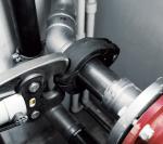 Фитинги Megapress сертифицированы для применения в закрытых системах отопления и холодоснабжения, системах спринклерного пожаротушения, трубопроводах для транспортировки сжатого воздуха, в судостроении и промышленности.