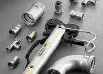 В новую линию фитингов Megapress S XL от Viega входит все необходимое для быстрого монтажа трубопроводов из стандартных стальных труб (ГОСТ 10704-91) диаметром до 4 дюймов.