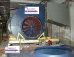 Монтаж вентилятора для центрального кондиционера КТЦ 3А-125